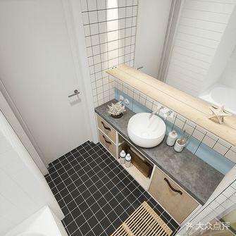 10-15万60平米公寓现代简约风格卫生间欣赏图