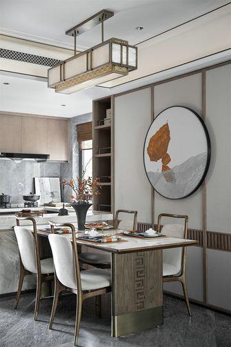 富裕型110平米三新古典风格餐厅设计图