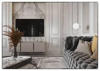 130平米三室两厅法式风格其他区域图片大全
