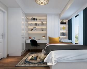 豪华型130平米四室两厅欧式风格书房装修案例