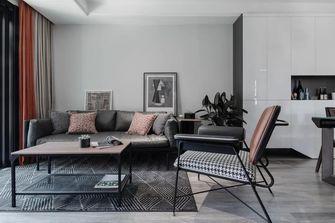 5-10万90平米三室一厅工业风风格客厅欣赏图