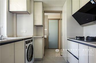 富裕型60平米公寓日式风格厨房图片