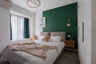 10-15万90平米三室两厅北欧风格卧室图片