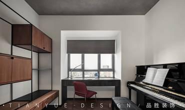 10-15万140平米四室两厅工业风风格书房装修案例