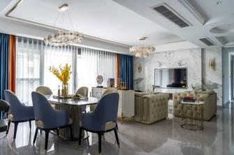 豪华型140平米四室两厅美式风格餐厅效果图
