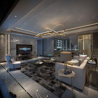 140平米别墅轻奢风格健身房设计图