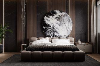 20万以上120平米三室两厅现代简约风格卧室设计图
