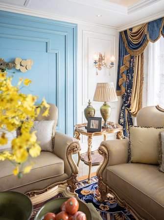15-20万140平米三室两厅法式风格客厅图片大全