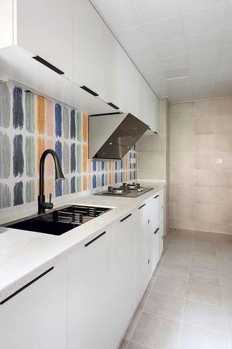 15-20万80平米三室一厅北欧风格厨房装修案例