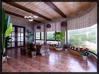 豪华型140平米别墅美式风格阳光房设计图