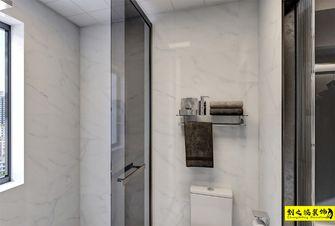 富裕型三室两厅现代简约风格卫生间设计图