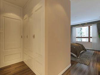 120平米三室两厅港式风格衣帽间效果图