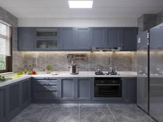 130平米三室一厅法式风格厨房装修效果图