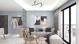 富裕型130平米三室一厅田园风格其他区域装修案例