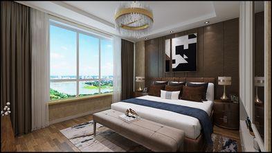 130平米三室三厅轻奢风格卧室设计图