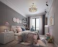 豪华型140平米四室两厅北欧风格卧室图