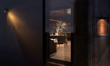 140平米英伦风格餐厅装修图片大全