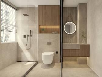 富裕型60平米一室一厅法式风格卫生间图片