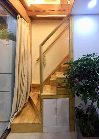 110平米四中式风格楼梯间图