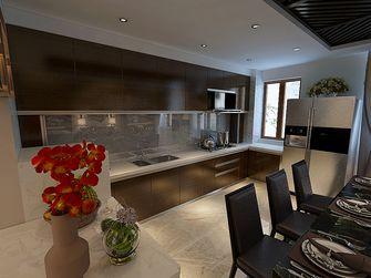 120平米三室两厅港式风格厨房装修案例
