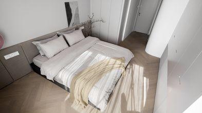 10-15万50平米公寓现代简约风格卧室效果图