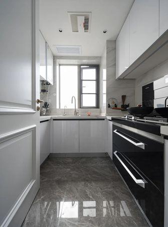 豪华型140平米三室两厅轻奢风格厨房图片大全