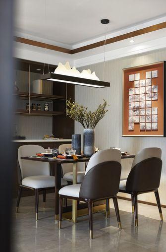 20万以上120平米三室两厅中式风格餐厅装修案例