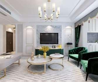 20万以上130平米四室两厅地中海风格客厅图片大全