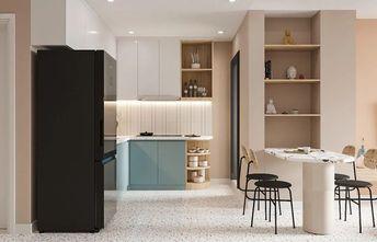 60平米现代简约风格厨房效果图