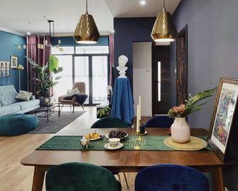 100平米三室一厅欧式风格餐厅效果图