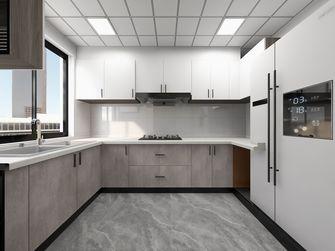 100平米三室一厅轻奢风格厨房图片