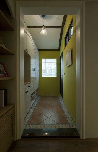 120平米三室一厅混搭风格楼梯间效果图