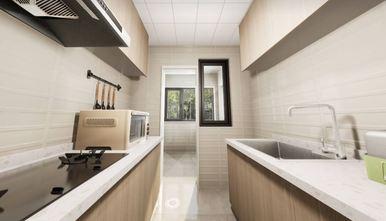 90平米一居室日式风格厨房效果图