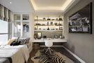富裕型90平米三室两厅法式风格书房装修案例