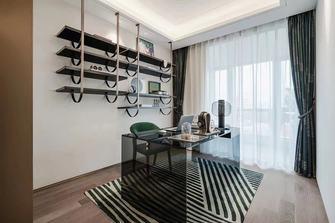 豪华型120平米三室两厅北欧风格书房装修案例