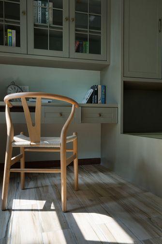 经济型110平米三北欧风格书房设计图