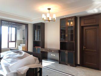 富裕型130平米三室一厅新古典风格卧室图