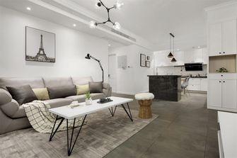 经济型60平米现代简约风格客厅装修图片大全