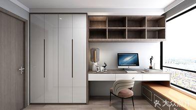 110平米三室一厅混搭风格书房欣赏图