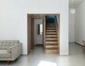 经济型40平米小户型工业风风格楼梯间图