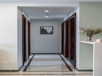 富裕型80平米三室两厅北欧风格走廊图