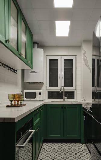 经济型80平米混搭风格厨房设计图