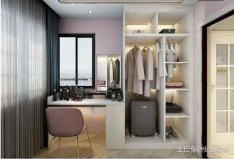豪华型一居室现代简约风格衣帽间装修案例