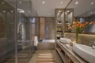 豪华型140平米现代简约风格卫生间图片