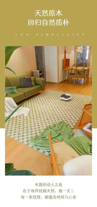 富裕型100平米三室一厅日式风格客厅设计图