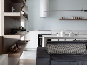 120平米三室三厅现代简约风格客厅图