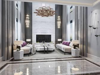 20万以上140平米复式现代简约风格客厅图片大全