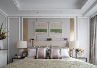 120平米三室两厅法式风格卧室图片