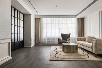 富裕型140平米三法式风格客厅设计图