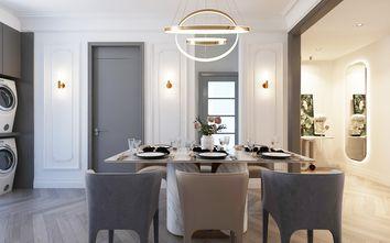 90平米一居室轻奢风格餐厅图片